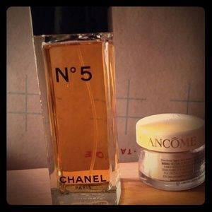 new Chanel purfume and Lancome moisturizer